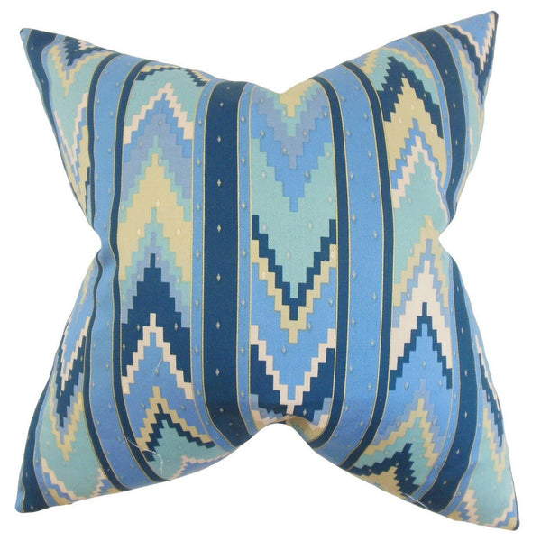 Amadis Geometric Pillow Blue - Upper Earth