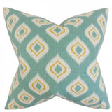 Dai Ikat Pillow Aqua - Upper Earth
