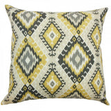 Jinja Geometric Pillow Black - Upper Earth