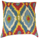 Laythan Ikat Pillow Multi - Upper Earth