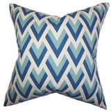 Eleri Geometric Pillow Blue - Upper Earth