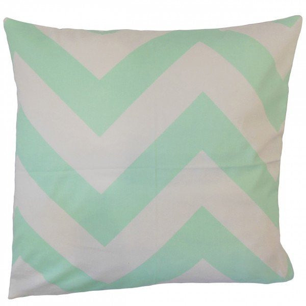 Ocheckka Chevron Pillow Mint - Upper Earth