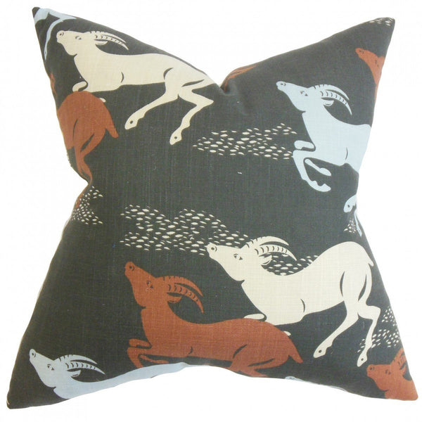 Naenia Animal Print Pillow Red - Upper Earth