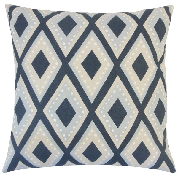 Shasa Geometric Pillow Midnight - Upper Earth