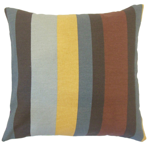Gainell Stripes Pillow Grey - Upper Earth