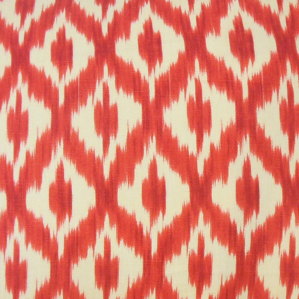 Okapi Ikat Pillow Red - Upper Earth