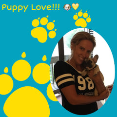 Michele and her new puppy love!!! - Wilton, CT
