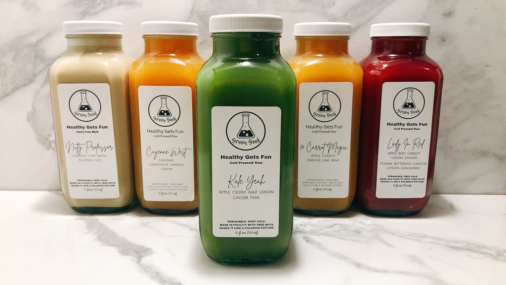 JUMPSTART JUICE CLEANSE - Green Geek