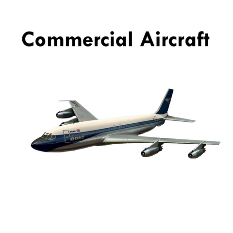 Plastic Kits 1/48 Category's Commercial Aircraft
