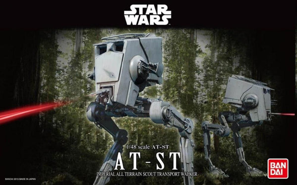 Bandai 1/48 Star Wars Plastic Model Kit AT-ST Scout Transporter Walker