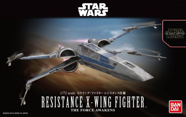Bandai 1/72 Star Wars Plastic Model Kit Resistance X Wing Fighter