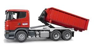 Bruder 1/16 Scania with tipping container