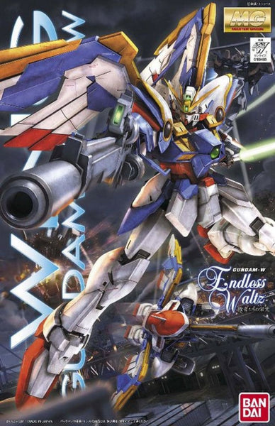 BANDAI GUNDAM 1/100 MG - Endless Waltz - XXXG-01W Wing - New Mobile Report