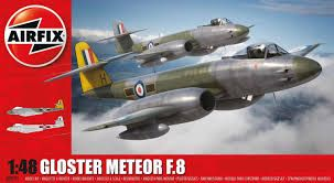 Airfix 1/72 Gloster Meteor F8