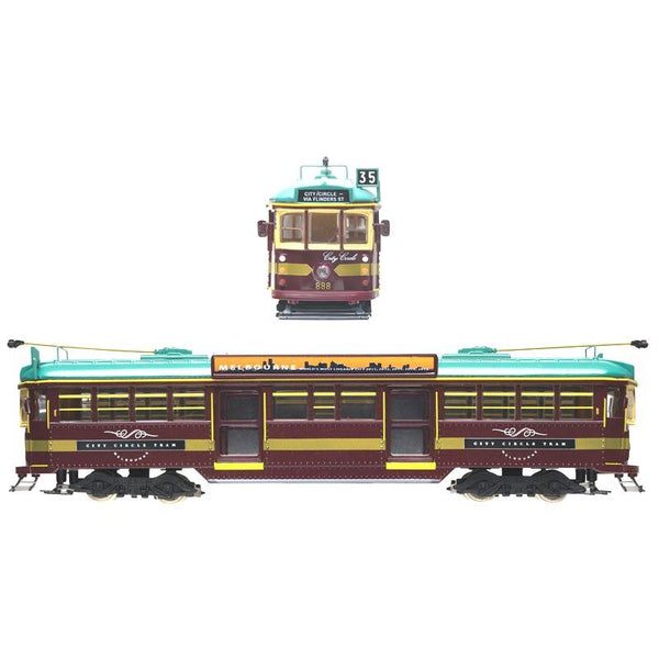 Cooee Classics 00 12v Electric Melbourne Tram City Circle