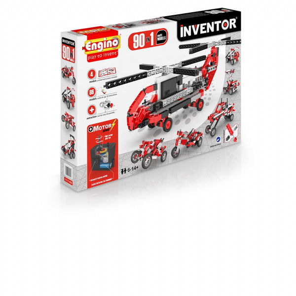 Engino Inventor Series 90 Models Motorised Set