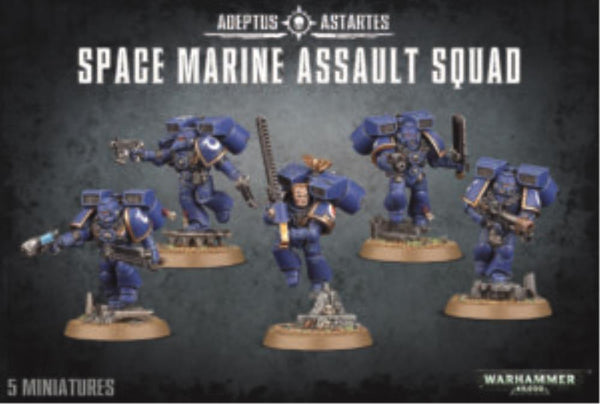 48-09 Space Marine Assault Squad 2017