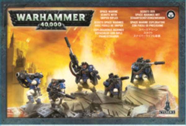 48-29 Space Marine Scouts with Sniper Rifles 2017