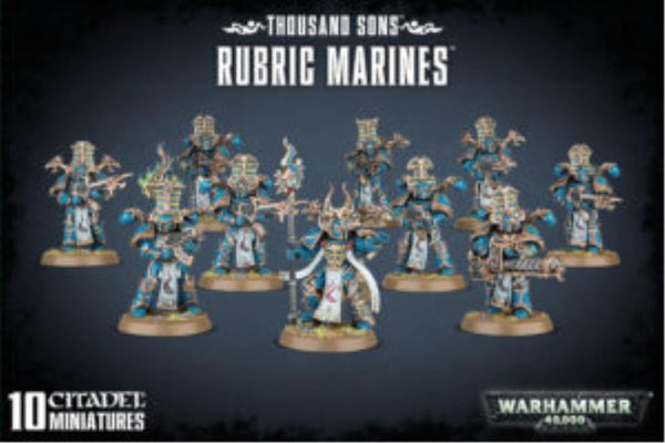 43-35 Thousand Sons Rubric Marines