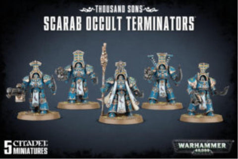 43-36 Thousand Sons Scarab Occult Terminators