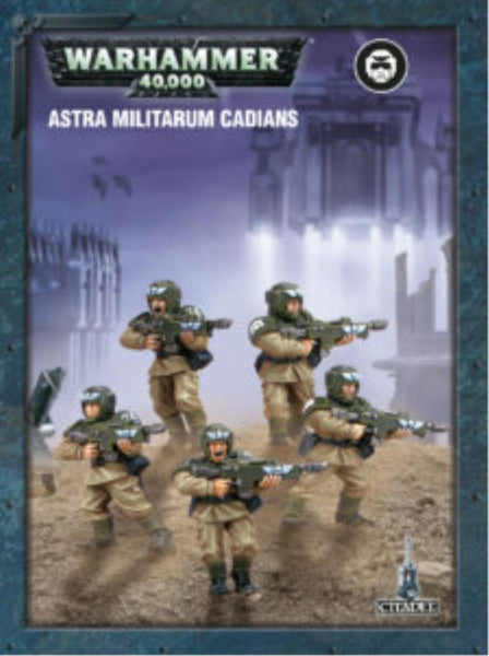 35-33 Easy to Build: Astra Militarum Cadians