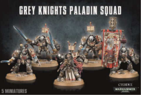 57-09 Grey Knights Paladin Squad 2017