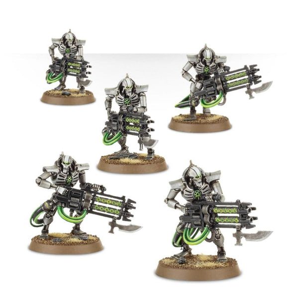 49-06 Necron Warriors with Canoptek Scarabs