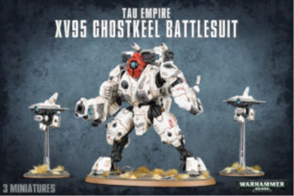 56-20 Tau Empire XV95 Ghostkeel Battlesuit 2017