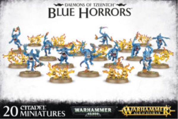 97-30 Daemons of Tzeentch Blue Horrors