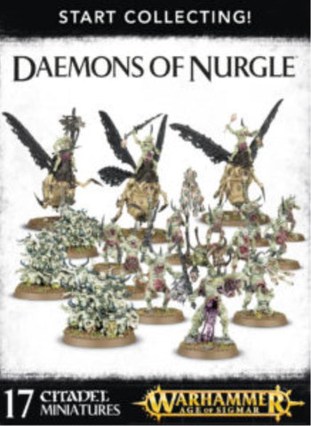 70-98 Start Collecting! Daemons of Nurgle 2017