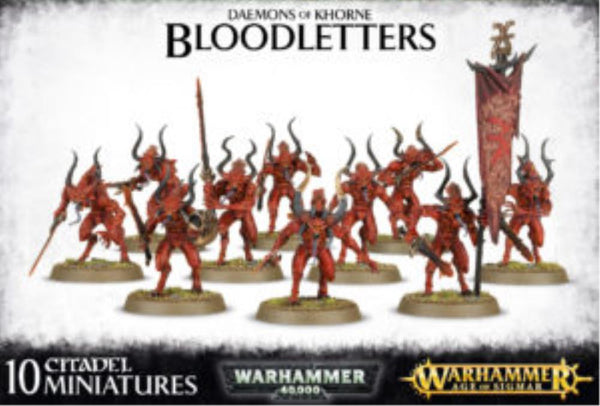97-08 Daemons of Khorne Bloodletters 2017