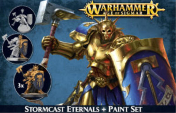 60-10 Stormcast Eternals + Paint Set 2016