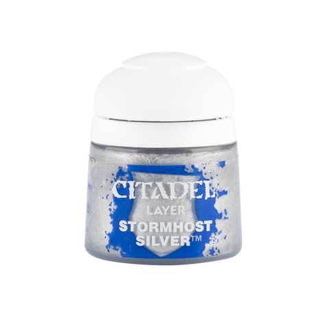 Citadel Layer: Stormhost Silver. 12ml paint pot