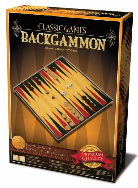 Classic Games Backgammon Brisbane CBD City Hobbies and Toys