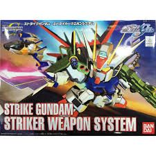 Bandai 1/144 BB 259 Strike Gundam Striker Weapon System