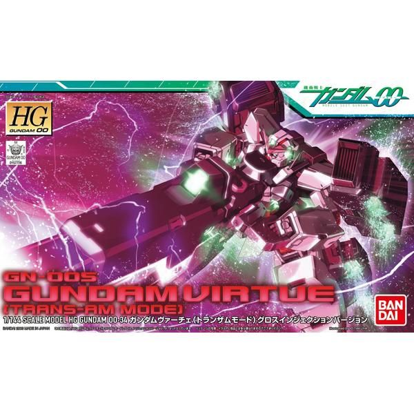 Bandai 1/144 HG Gundam Virtue Trans Am Mode