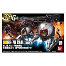 Bandai 1/144 HGUC Rb-79 Ball Twin Set