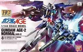 Bandai 1/144 HG Gundam Age-2 Normal