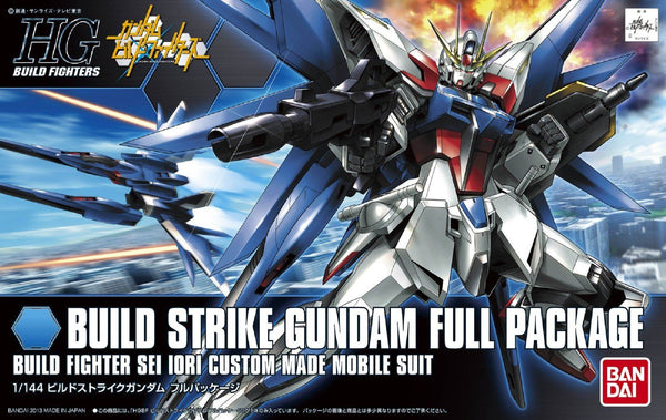 Bandai 1/144 HGBF Build Strike Gundam Full Package Build Fighter Sei Iori Custom Made Mobile Suit