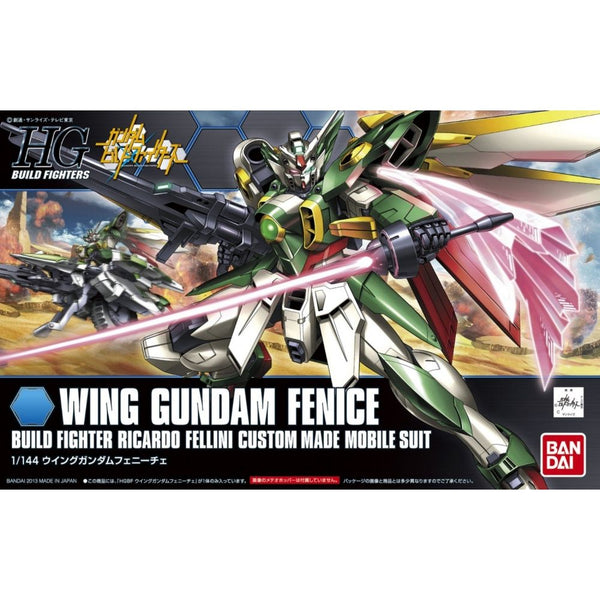 Bandai 1/144 HGBF Wing Gundam Fenice Build Fighter Ricardo Felling CustomMade Mobile Suit