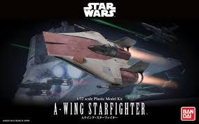 Bandai 1/72 Star Wars A-Wing Fighter