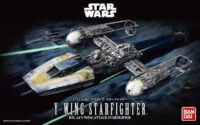 Bandai 1/72 Star Wars Y-Wing Starfighter