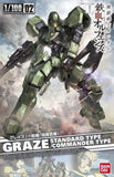 Bandai 1/100 Full Mechanics IBO Gundam Graze Commander type Standard type 1/100 Cover Art