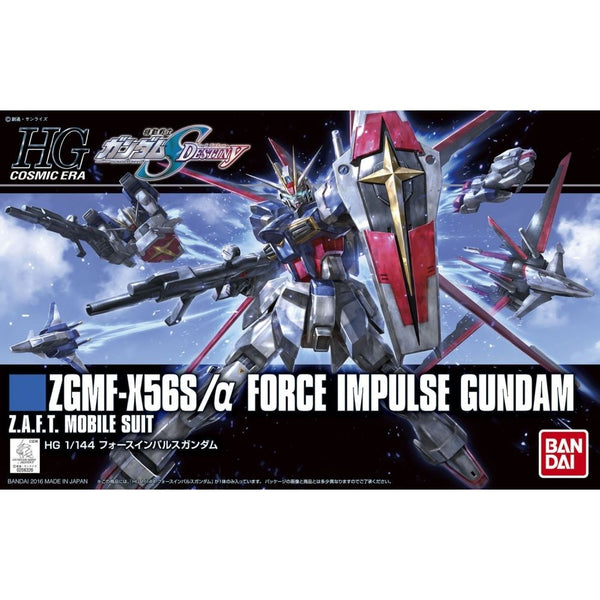 Bandai 1/144 HGCE ZGMF-X56S Force Impulse Gundam F.A.F.T. Mobile Suit