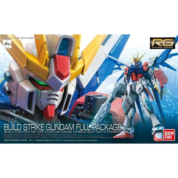 Bandai 1/144 RG Build Strike Gundam Full Package