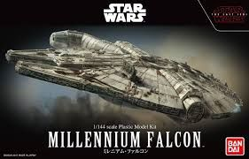 Bandai 1/144 Star Wars Millenium Falcon The Last Jedi Model Kit