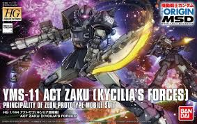 Bandai 1/144 HG ACT Zaku (Kycilias Forces)