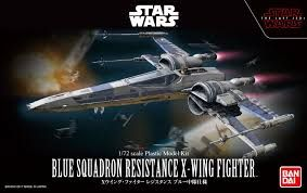 Bandai 1/72 Star Wars Blue Squadron Resistance X-Wing Fighter