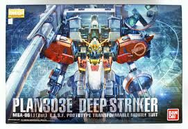 Bandai 1/100 MG PLAN303E Deep Striker package art