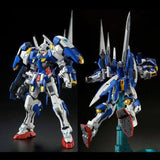 Bandai 1/100 MG Avalanche Exia Front View and Back Pose